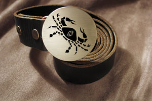 Cancer -ZODIAC / ASTROLOGY Belt Buckle-Metal Some Art