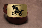 Capricorn -ZODIAC / ASTROLOGY Belt Buckle-Metal Some Art