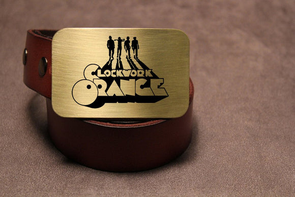 A Clockwork Orange Belt Buckle - Metal Some Art