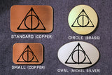 Deathly Hallows HARRY POTTER Belt Buckle-Metal Some Art