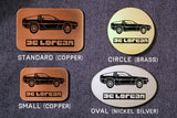 Delorean BACK TO THE FUTURE Belt Buckle-Metal Some Art