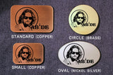 The Dude THE BIG LEBOWSKI Belt Buckle-Metal Some Art