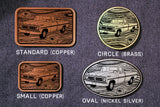 Ford F-150 PICKUP TRUCK Belt Buckle-Metal Some Art