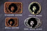Jimi Hendrix Belt Buckle-Metal Some Art