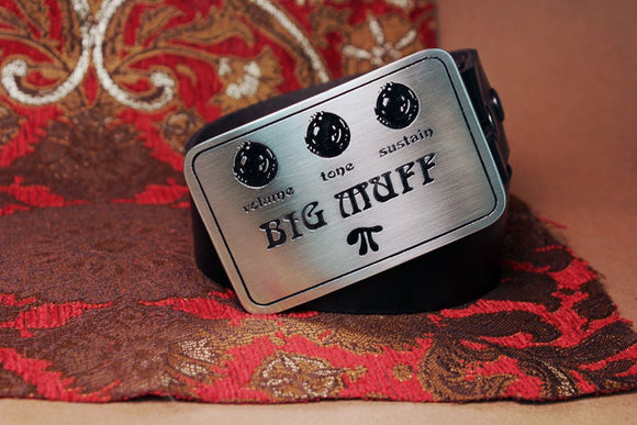 Big Muff GUITAR PEDAL Belt Buckle-Metal Some Art