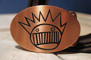 Ween - Boognish Belt Buckle-Metal Some Art