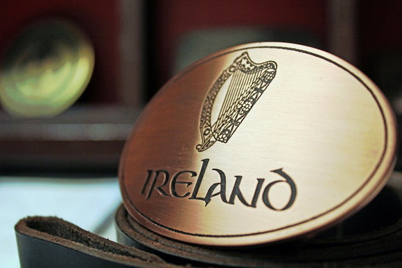 Ireland Belt Buckle-Metal Some Art