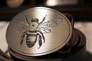 Honey Bee Belt Buckle-Metal Some Art