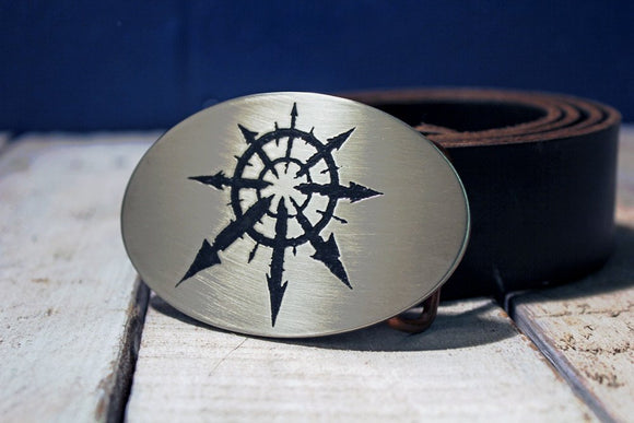 Chaos Space Marines Warhammer 40K Belt Buckle-Metal Some Art