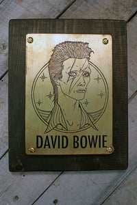 Celebrity Memorial Plaque-Metal Some Art