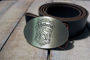 Slytherin Crest HARRY POTTER Belt Buckle-Metal Some Art