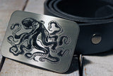 Octopus Belt Buckle-Metal Some Art