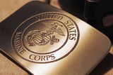 Marine Corps USMC MARINES Belt Buckle-Metal Some Art