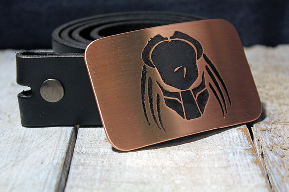 Predator Belt Buckle-Metal Some Art