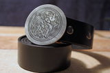 Celtic Dog Belt Buckle-Metal Some Art