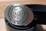 Star Trek UNITED FEDERATION OF PLANETS Belt Buckle-Metal Some Art