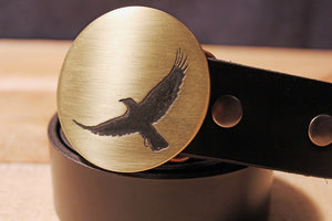 Crow RAVEN Belt Buckle-Metal Some Art