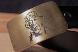 Mr. Miyagi KARATE KID Belt Buckle-Metal Some Art