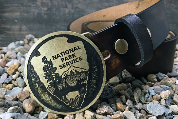 National Parks Service -PARK RANGER- Belt Buckle