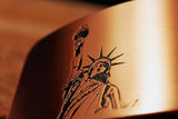 Statue of Liberty Belt Buckle-Metal Some Art