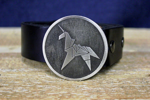 Blade Runner Origami Unicorn Belt Buckle-Metal Some Art