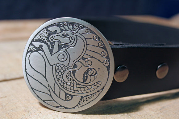 Seahorse *Capricorn* Belt Buckle-Metal Some Art