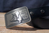 Chef Knife -PIG DIAGRAM- Butcher Belt Buckle-Metal Some Art