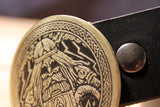 Odin -Mjolnir- VIKING Belt Buckle-Metal Some Art