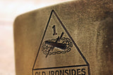 1st Armored Division US ARMY -Old Ironsides- Belt Buckle-Metal Some Art
