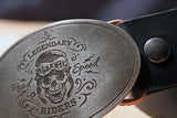 DESIGN YOUR OWN Custom Biker Belt Buckle-Metal Some Art