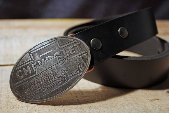 Chevy Truck Belt Buckle