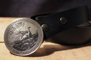 Viking Ship -KNARR- Belt Buckle