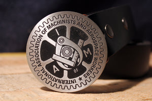 Machinist UNION Belt Buckle