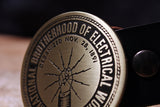 Electrician/ Electrical Workers UNION Belt Buckle