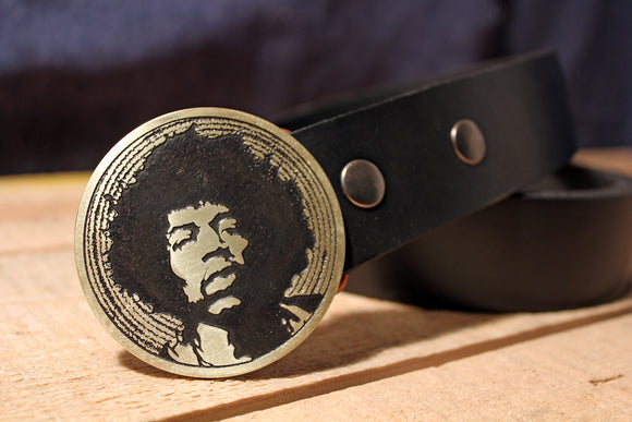Jimi Hendrix Belt Buckle