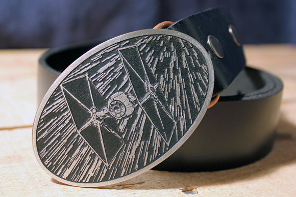 Tie Fighter -STAR WARS- Belt Buckle