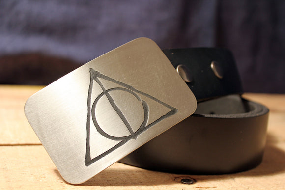 Deathly Hallows HARRY POTTER Belt Buckle