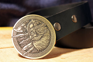 Viking Warrior Belt Buckle