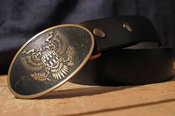 American SEAL Bald Eagle Belt Buckle