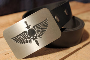 Warhammer 40K SPACE MARINES Belt Buckle
