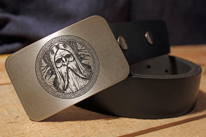 Odin -Crow- VIKING Belt Buckle