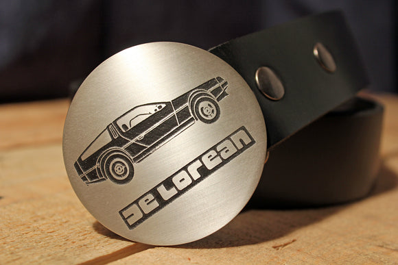 Delorean BACK TO THE FUTURE Belt Buckle