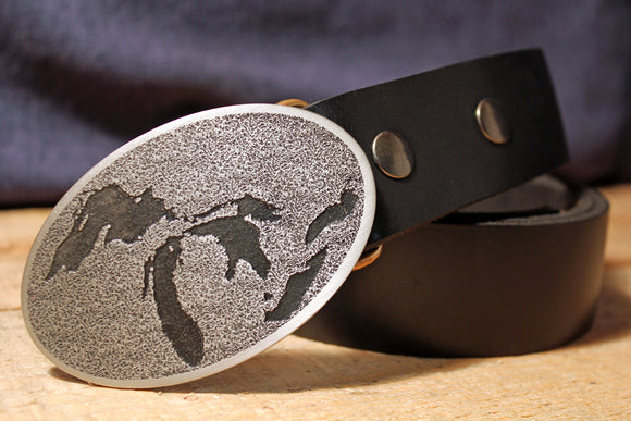 Great Lakes Belt Buckle