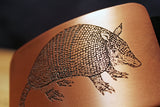 Armadillo TEXAS Belt Buckle