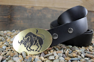 Taurus -ZODIAC / ASTROLOGY Belt Buckle