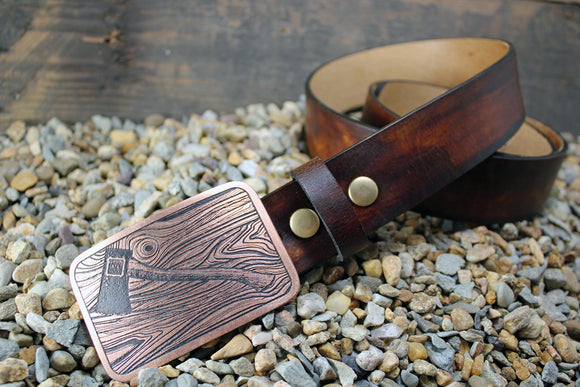 Lumberjack Axe Belt Buckle