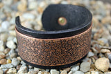 Skull Pattern Solid Copper CUFF Bracelet