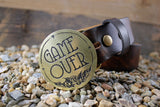 """Game Over"" Belt Buckle - by Madeline Brown"