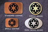 Imperial Cog- Galactic Empire STAR WARS Belt Buckle-Metal Some Art