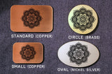 Buddhist Lotus ZEN Belt Buckle-Metal Some Art